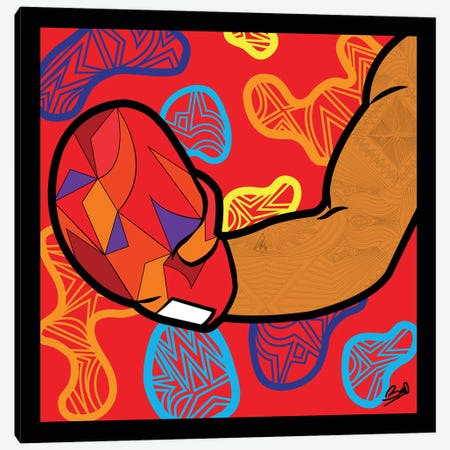 Pop Challenge Canvas Print #BSA55} by Baro Sarre Art Print