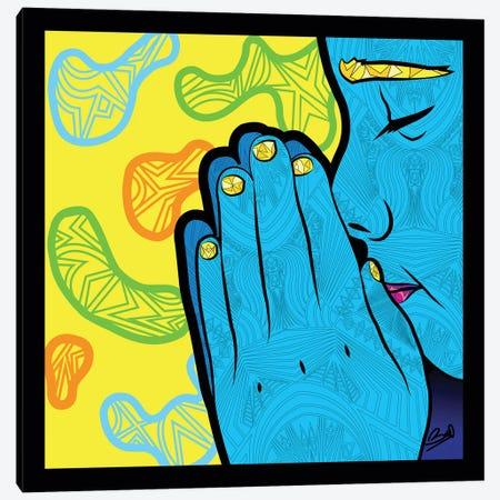 Pop Paix Canvas Print #BSA62} by Baro Sarre Art Print