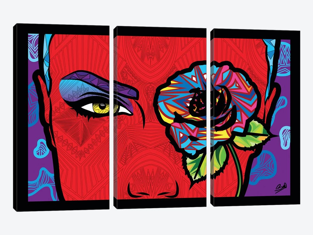 Pop Passion by Baro Sarre 3-piece Canvas Artwork