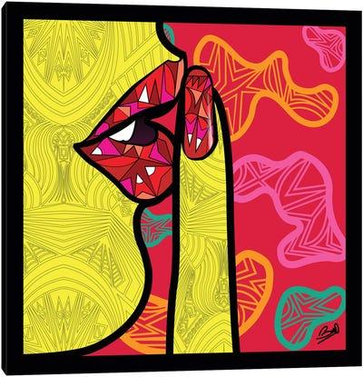 Pop Secret Canvas Art Print