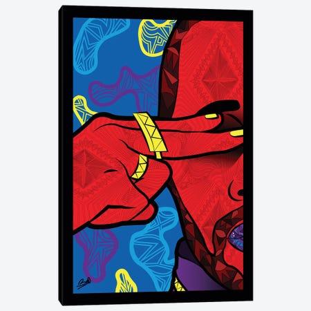 Pop Vision 3-Piece Canvas #BSA67} by Baro Sarre Canvas Art
