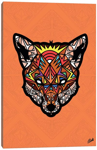 Renard Sauvage Canvas Art Print