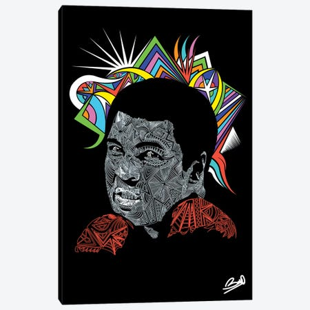 Ali Canvas Print #BSA6} by Baro Sarre Art Print