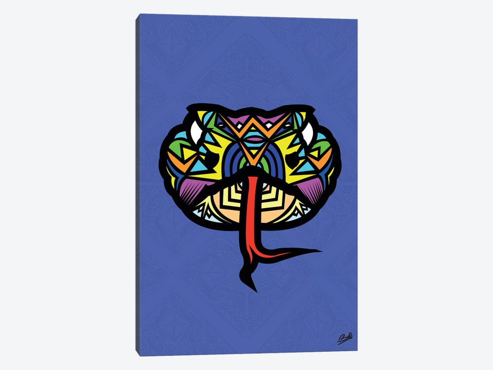 Serpent Sauvage by Baro Sarre 1-piece Canvas Print