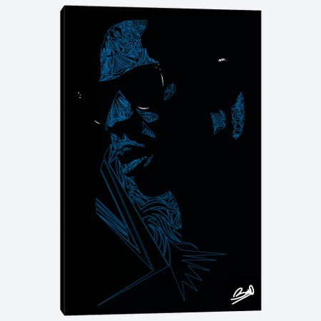 Shawn Carter Canvas Print #BSA72} by Baro Sarre Canvas Wall Art