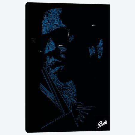Shawn Carter Canvas Print #BSA72} by Baro Sarre Canvas Wall Art