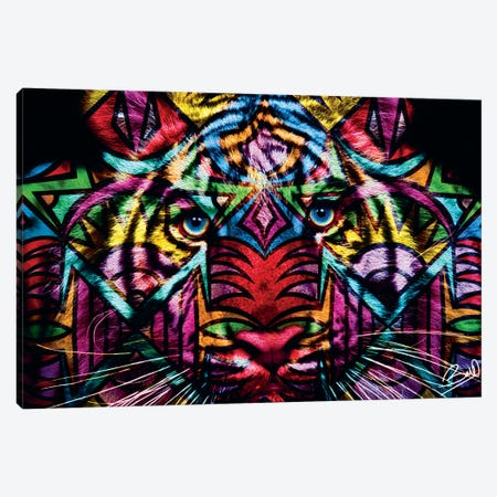 Tigre Canvas Print #BSA74} by Baro Sarre Canvas Art Print