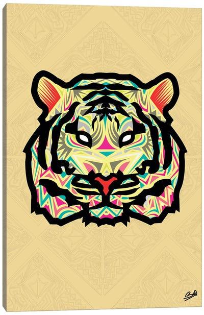 Tigre Sauvage Canvas Art Print