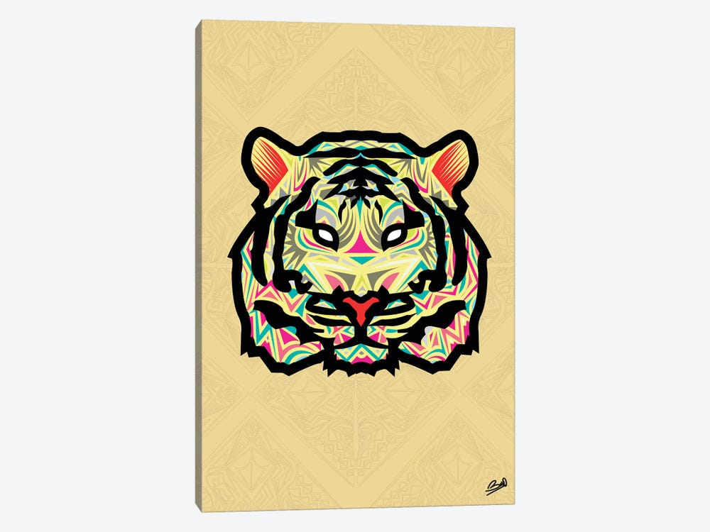 Tigre Sauvage by Baro Sarre 1-piece Canvas Print
