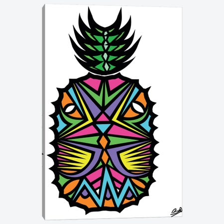 Ananas Canvas Print #BSA9} by Baro Sarre Canvas Art