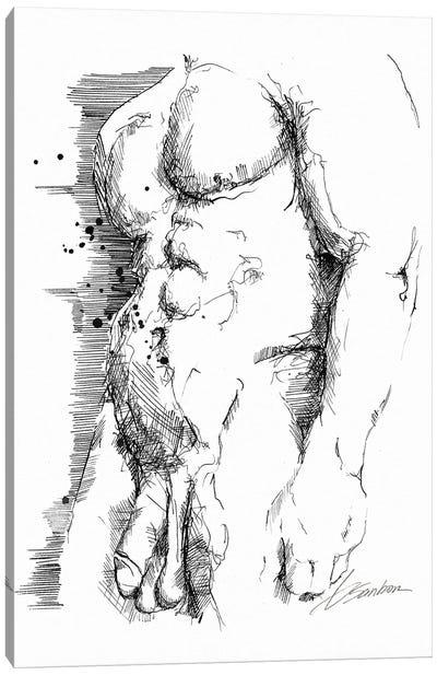 Ink Canvas Art Print