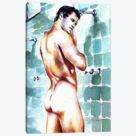 Locker Room 1 Canvas Print #BSB51} by Brenden Sanborn Canvas Art Print