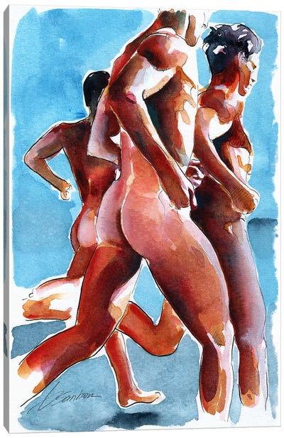 Runners Canvas Art Print