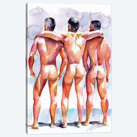 Summer Days Gone By 3-Piece Canvas #BSB84} by Brenden Sanborn Art Print