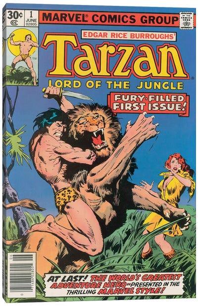 Tarzan Comic Cover #1 Canvas Art Print