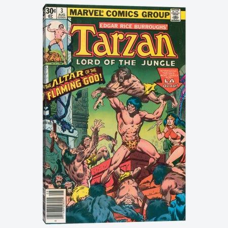 Tarzan Comic Cover #3 Canvas Print #BSC3} by Jon Buscema Canvas Art
