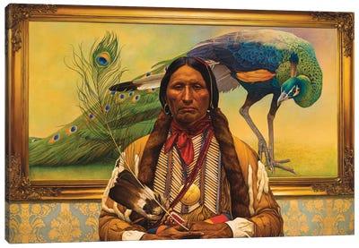 Fancy Feathers Canvas Art Print