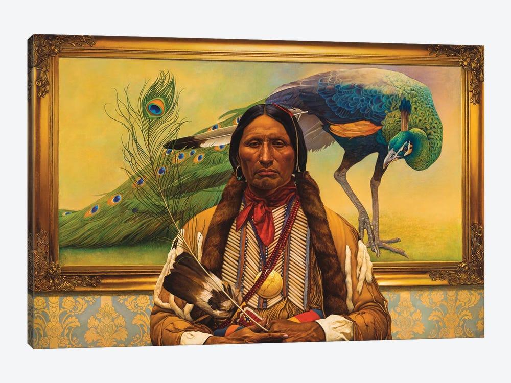 Fancy Feathers by Thomas Blackshear II 1-piece Canvas Art Print