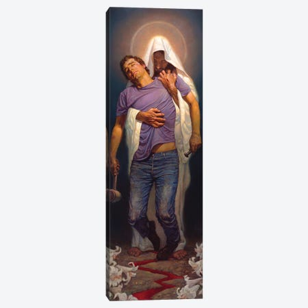 Forgiven Canvas Print #BSH12} by Thomas Blackshear II Art Print