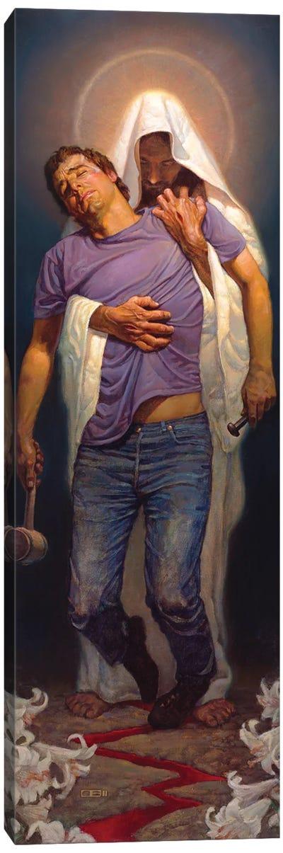 Forgiven Canvas Art Print