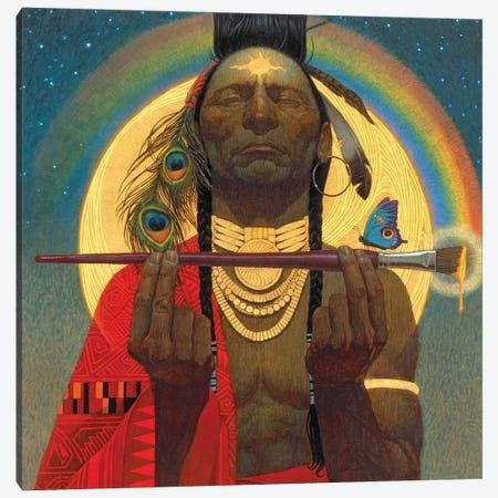 Indian Paintbrush Canvas Print #BSH18} by Thomas Blackshear II Canvas Art Print