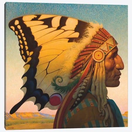 Native American Nouveau Canvas Print #BSH20} by Thomas Blackshear II Canvas Art