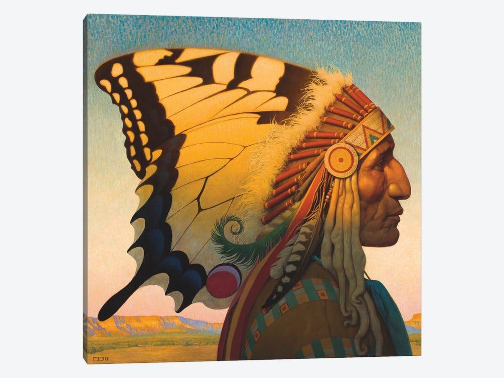Native American Nouveau by Thomas Blackshear II 1-piece Canvas Print