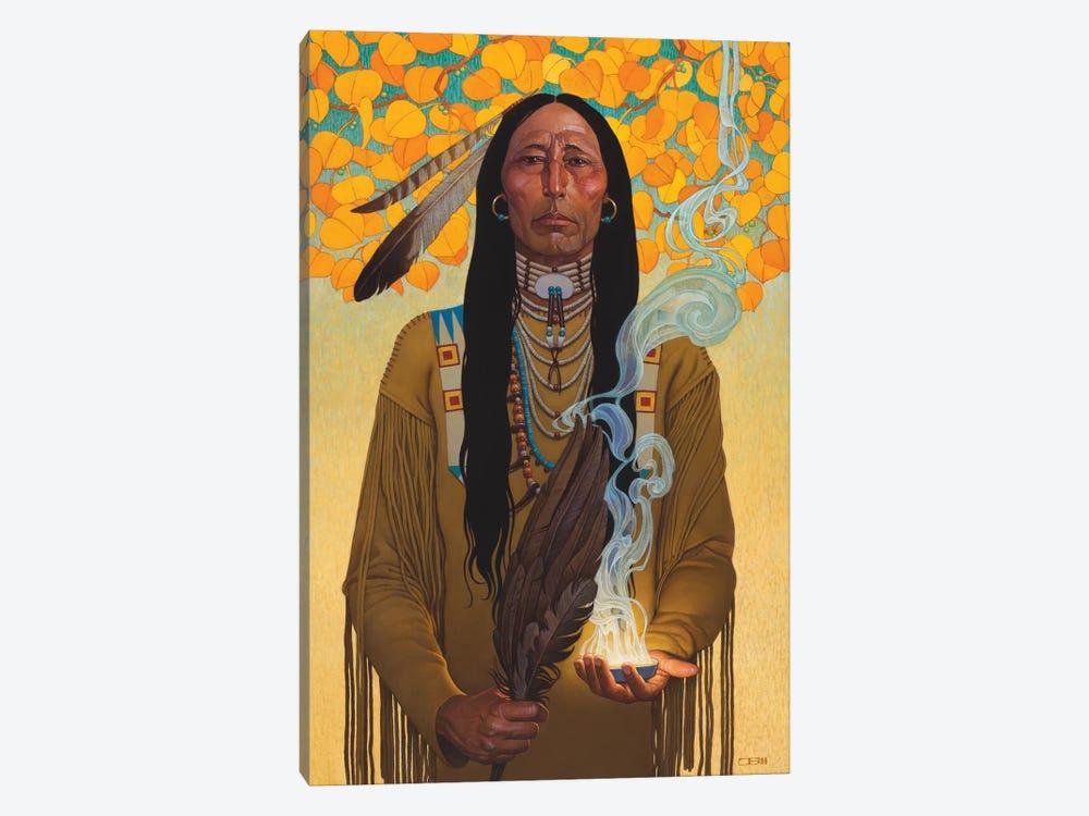 Sacred Smoke by Thomas Blackshear II 1-piece Canvas Wall Art