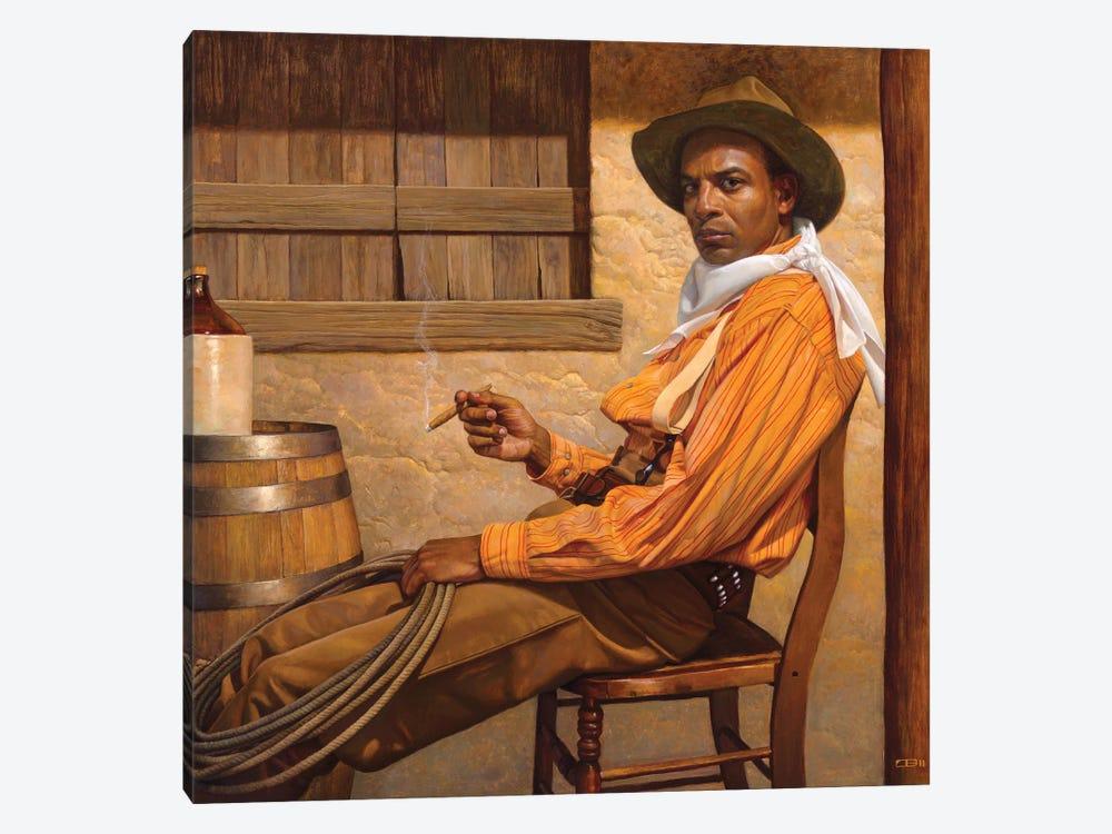 Texas Chillin by Thomas Blackshear II 1-piece Canvas Print
