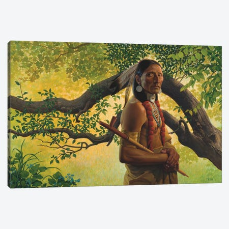 There Once Was A Time Canvas Print #BSH29} by Thomas Blackshear II Canvas Art