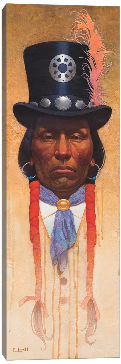 Top Hat Canvas Art Print