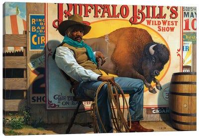 Wild West Show Canvas Art Print