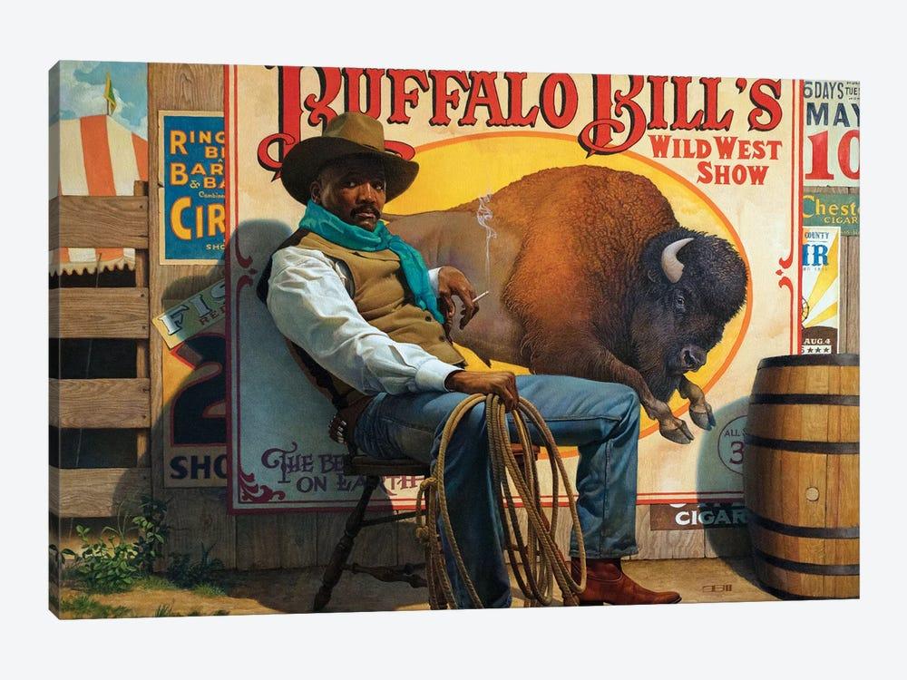 Wild West Show by Thomas Blackshear II 1-piece Canvas Artwork