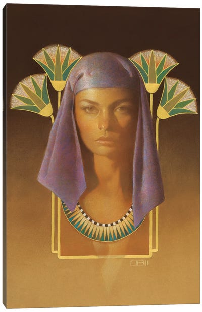 Egyptian Jewel Canvas Art Print