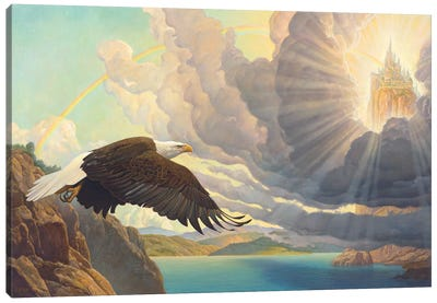 Process Of God Canvas Art Print