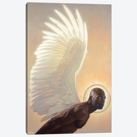 The Watcher Canvas Print #BSH37} by Thomas Blackshear II Canvas Artwork