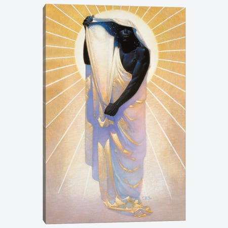 Night In Day Canvas Print #BSH39} by Thomas Blackshear II Art Print