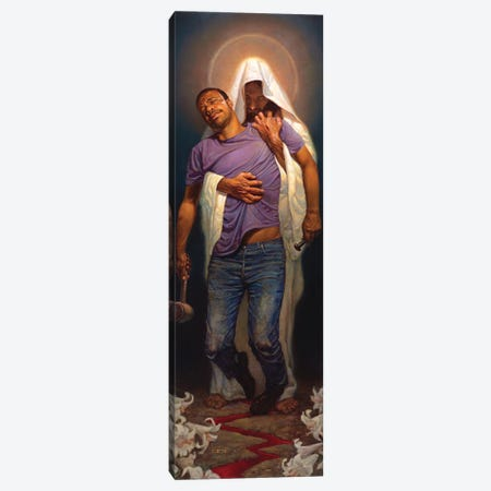 Forgiven II Canvas Print #BSH41} by Thomas Blackshear II Canvas Art
