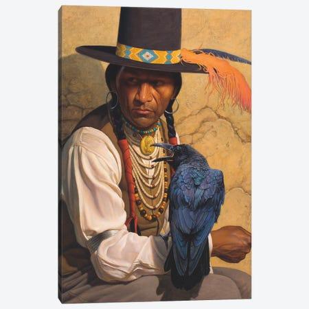 Crow Canvas Print #BSH8} by Thomas Blackshear II Art Print
