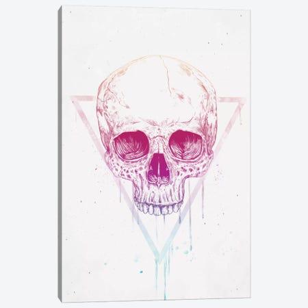Skull In Triangle Canvas Print #BSI101} by Balazs Solti Canvas Print