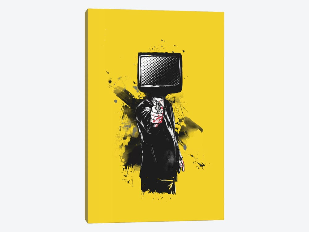 System Error by Balazs Solti 1-piece Canvas Print