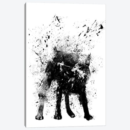 Wet Dog Canvas Print #BSI10} by Balazs Solti Canvas Artwork