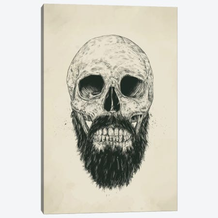 The Beard Is Not Dead Canvas Print #BSI111} by Balazs Solti Canvas Wall Art
