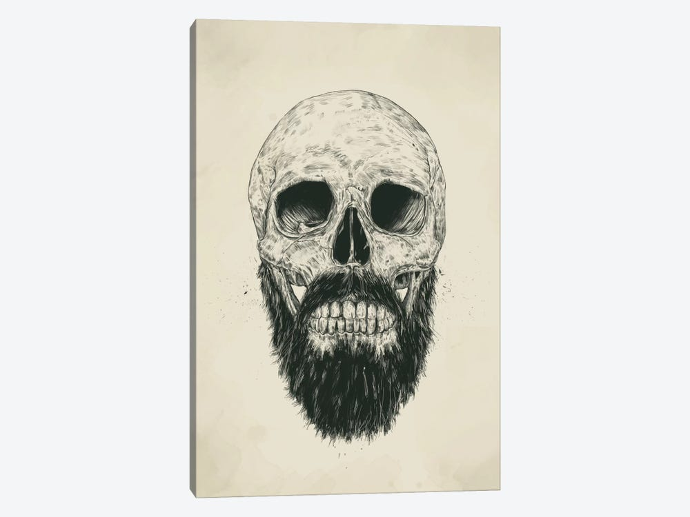 The Beard Is Not Dead by Balazs Solti 1-piece Canvas Art Print
