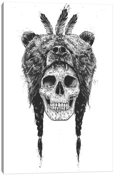 Dead Shaman Canvas Art Print