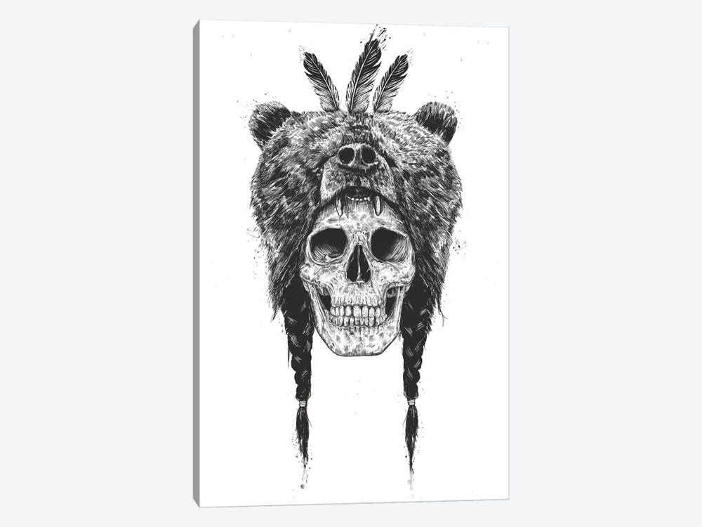 Dead Shaman by Balazs Solti 1-piece Canvas Art Print