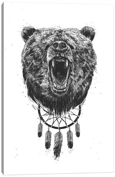 Don't Wake The Bear Canvas Art Print