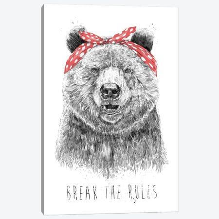 Break The Rules Canvas Print #BSI123} by Balazs Solti Canvas Print