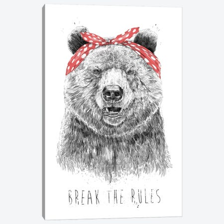 Break The Rules Canvas Print #BSI123} by Balazs Solti Canvas Print