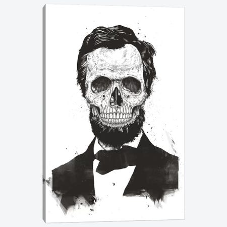 Dead Lincoln  Canvas Print #BSI124} by Balazs Solti Canvas Artwork